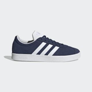 VL Court Shoes Tech Indigo / Cloud White / Matte Silver EG4107