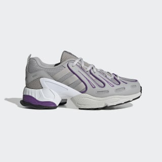 EQT Gazelle Shoes Grey Two / Grey Two / Active Purple EE5154