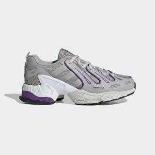 Кроссовки EQT Gazelle grey two f17 / grey two f17 / active purple EE5154