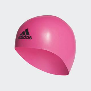 premoulded 3D swim cap Shock Pink / Black CV7597