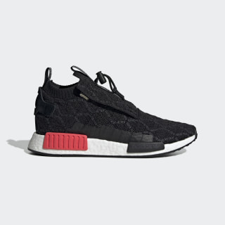 Sapatos NMD_TS1 Primeknit GTX Core Black / Carbon / Shock Red BD8078