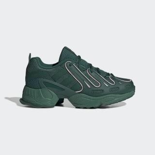 EQT Gazelle Shoes Collegiate Green / Collegiate Green / True Pink EE6485