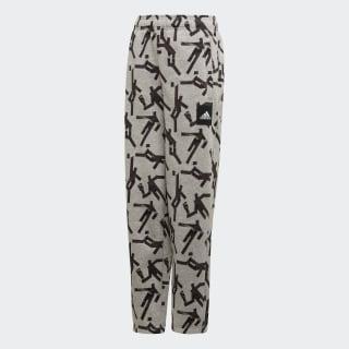 Sport ID Graphic Pants Medium Grey Heather / Black ED6390
