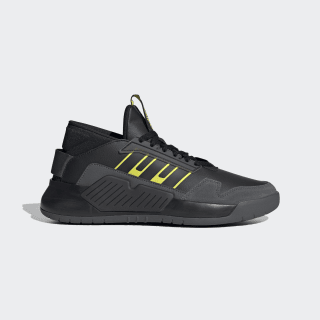 Zapatillas BBall 90s Core Black / Core Black / Shock Yellow EG9027