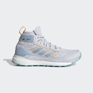 Кроссовки для хайкинга Terrex Free Hiker Parley Dash Grey / Easy Blue / Real Gold EH2274