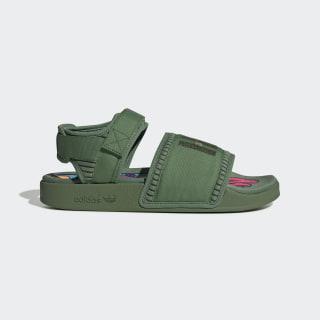 Pharrell Williams Adilette 2.0 Sandals Tribe Green / Tribe Green / Tribe Green FU7611