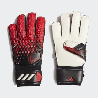 Вратарские перчатки Predator 20 MTC Fingersave Black / Active Red FH7293