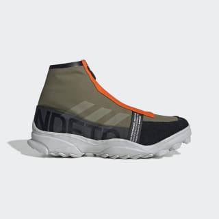 Кроссовки adidas x UNDEFEATED GSG9 olive cargo / light grey heather / orange G26650