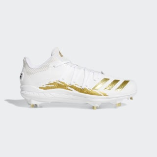 Afterburner 6.0 Speed Trap Cleats Cloud White / Gold Metallic / Core Black G27655