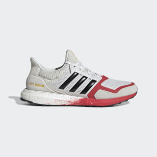 Ultraboost DNA Shoes Orbit Grey / Core Black / Lush Red FW4905