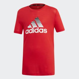 Футболка для фитнеса Prime scarlet / white / black ED5750