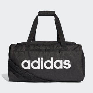 Linear Core Duffel Bag Small Black / Black / White DT4826