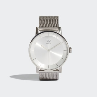 DISTRICT_M1 Uhr Silver Met. CJ6321