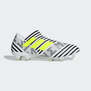Футбольные бутсы Nemeziz 17+ 360 Agility FG ftwr white / solar yellow / core black BB3675