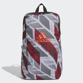 Mochila Parkhood Graphic black/white/active maroon DY3490