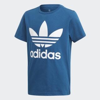 T-shirt Trefoil Legend Marine / White DV2906