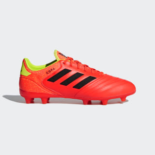 Copa 18.2 Firm Ground Boots Solar Red / Core Black / Solar Yellow DB2444