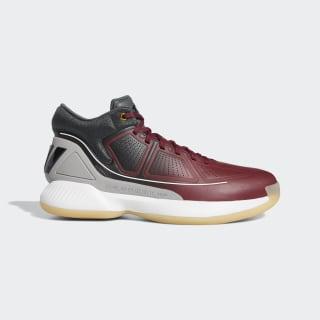 Баскетбольные кроссовки Rose 10 collegiate burgundy / core black / legend ivy G26161