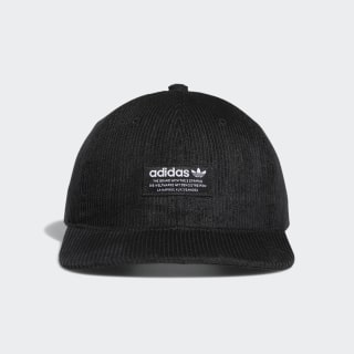 Relaxed Strap-Back Hat Black CK3065