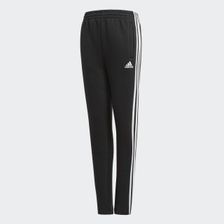 Pantalón Essentials 3 Rayas Felpa BLACK BQ2832