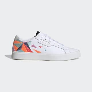 Sapatos adidas Sleek Cloud White / Tech Purple / Crystal White EG7876