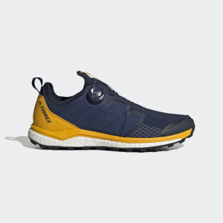 Sapatos TERREX Agravic Boa Collegiate Navy / Collegiate Navy / Active Gold G26377