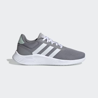 Кроссовки Lite Racer 2.0 Grey / Cloud White / Green Tint EG4018