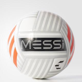 Balón Messi Glider WHITE/CLEAR GREY/BLACK/SOLAR RED BQ1369