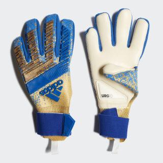 Predator Pro Gloves Gold Metallic / Football Blue DY2628