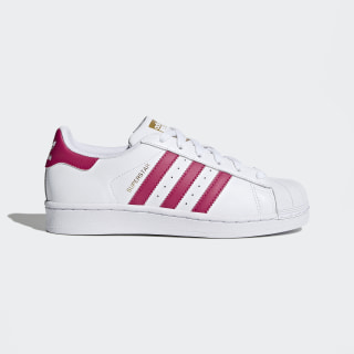 Tenis Superstar Cloud White / Bold Pink / Cloud White B23644