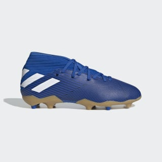 Nemeziz 19.3 Çim Saha Kramponu Football Blue / Cloud White / Core Black F99954