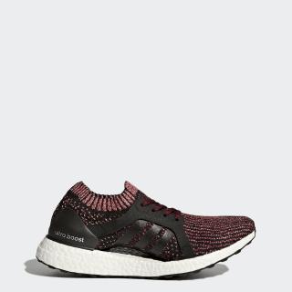 UltraBOOST X Shoes Core Black / Core Black / Mystery Ruby BY1674