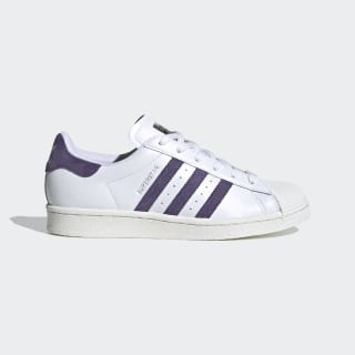 Superstar Schuh Cloud White / Tech Purple / Off White FV3373