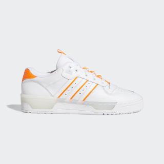 Zapatilla Rivalry Low Cloud White / Cloud White / Solar Orange EE4965