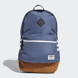 Classic 3-Stripes Plus Backpack Medium Blue CL5770