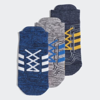 Chaussettes (3 paires) Blue / White / Collegiate Navy ED8623