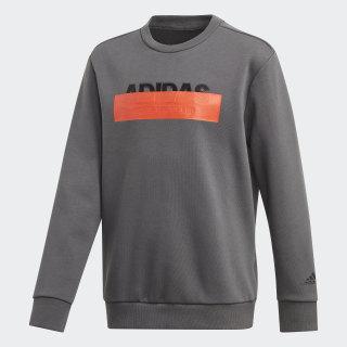 Athletics ID Lineage Sweatshirt Grey Six DZ5939