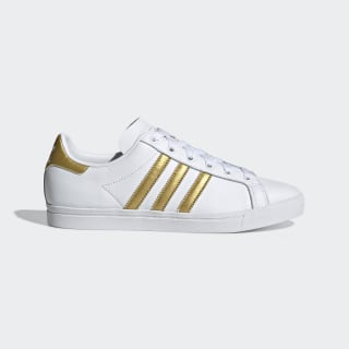Zapatillas Coast Star Cloud White / Gold Metallic / Core Black EE6200