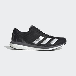 Adizero Boston 8 Schoenen Core Black / Cloud White / Grey EG7892