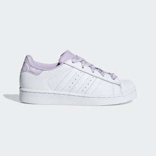 Кроссовки Superstar ftwr white / ftwr white / purple glow CM8600