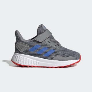 Tênis Duramo 9 Grey Three / Blue / Active Red EE9006