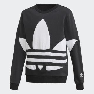 Big Trefoil Sweatshirt Black / White FS1852