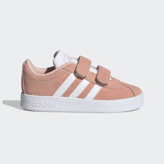 VL Court 2.0 Shoes Glow Pink / Cloud White / Grey Two EE6905