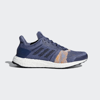 Tenis Ultraboost ST RAW INDIGO S18/NOBLE INK F17/HI-RES ORANGE S18 CQ2133