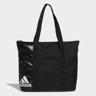 Training Essentials Tote Bag Black / White / White DT4059