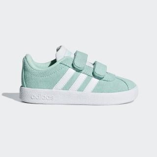 VL Court 2.0 Shoes Clear Mint / Cloud White / Cloud White B75977
