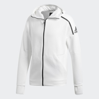 adidas Z.N.E. Fast Release Hoodie Zne Htr / White CY9903
