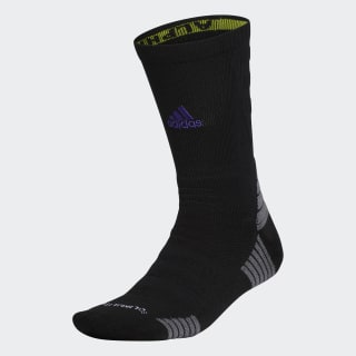 Alphaskin Max Cushioned Crew Socks Black CM5814