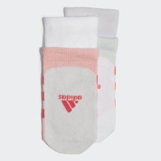 Две пары носков Glory Pink / App Solar Red / Dash Green / Purple Tint FK3483