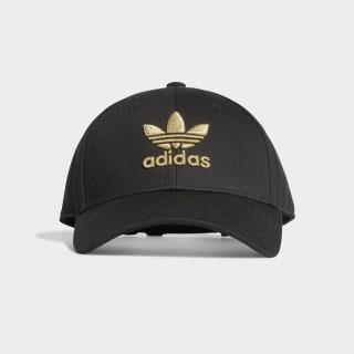 Mũ bóng chày Adicolor Gold Black / Gold Metallic FM1675